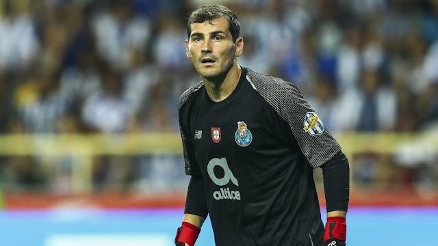 Former Real Madrid goalkeeper, Iker Casillas retires from football