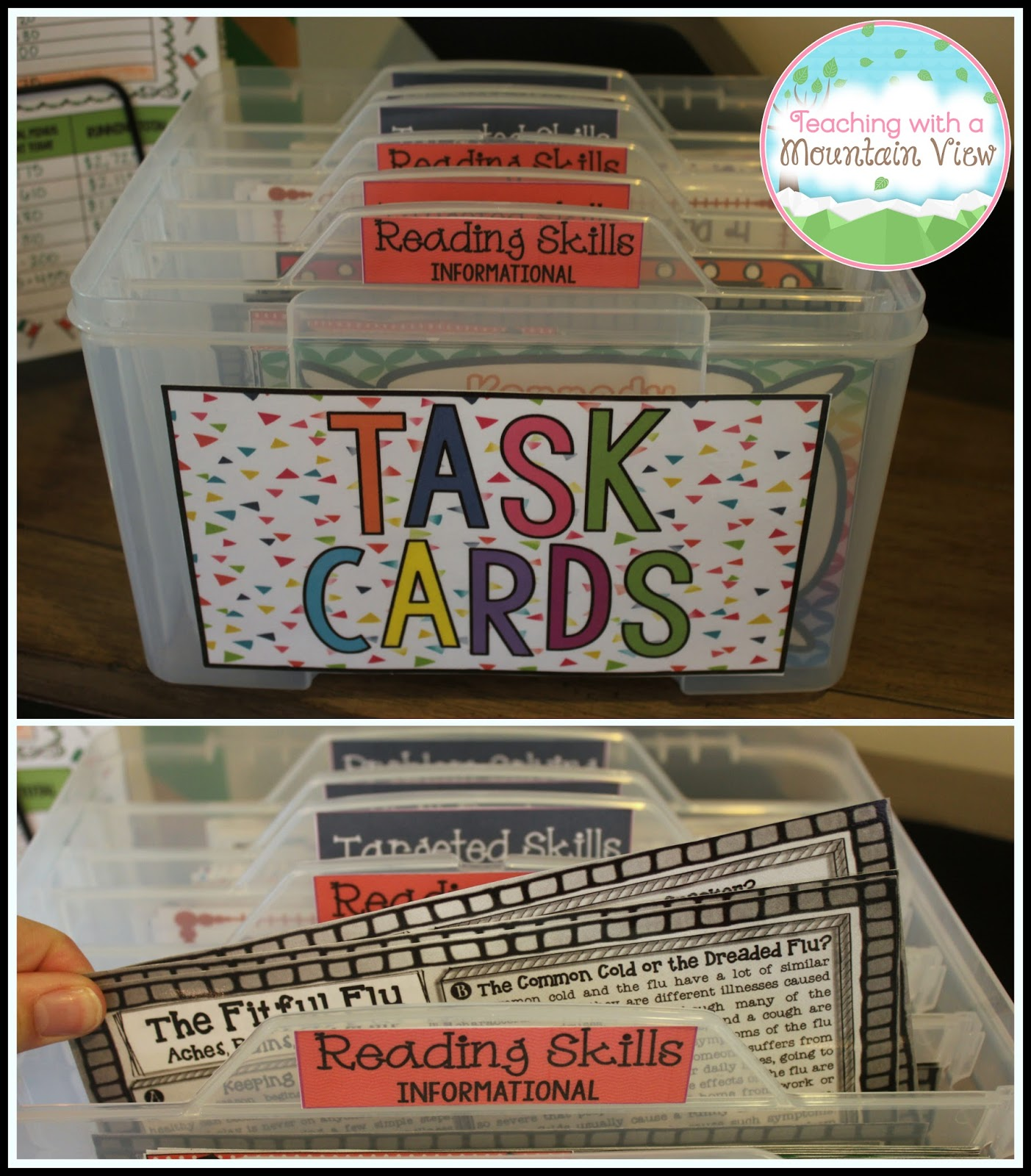 Teaching With A Mountain View: A New Task Card