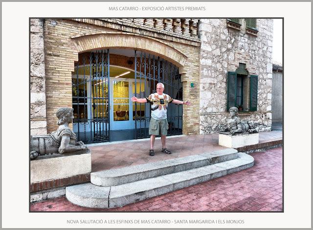 SANTA MARGARIDA I ELS MONJOS-EXPOSICIÓ-PINTURA-ARTISTES PREMIATS-CONCURS-RAIMON DE PENYAFORT-ESFINXS-ARTISTA-PINTOR-ERNEST DESCALS-