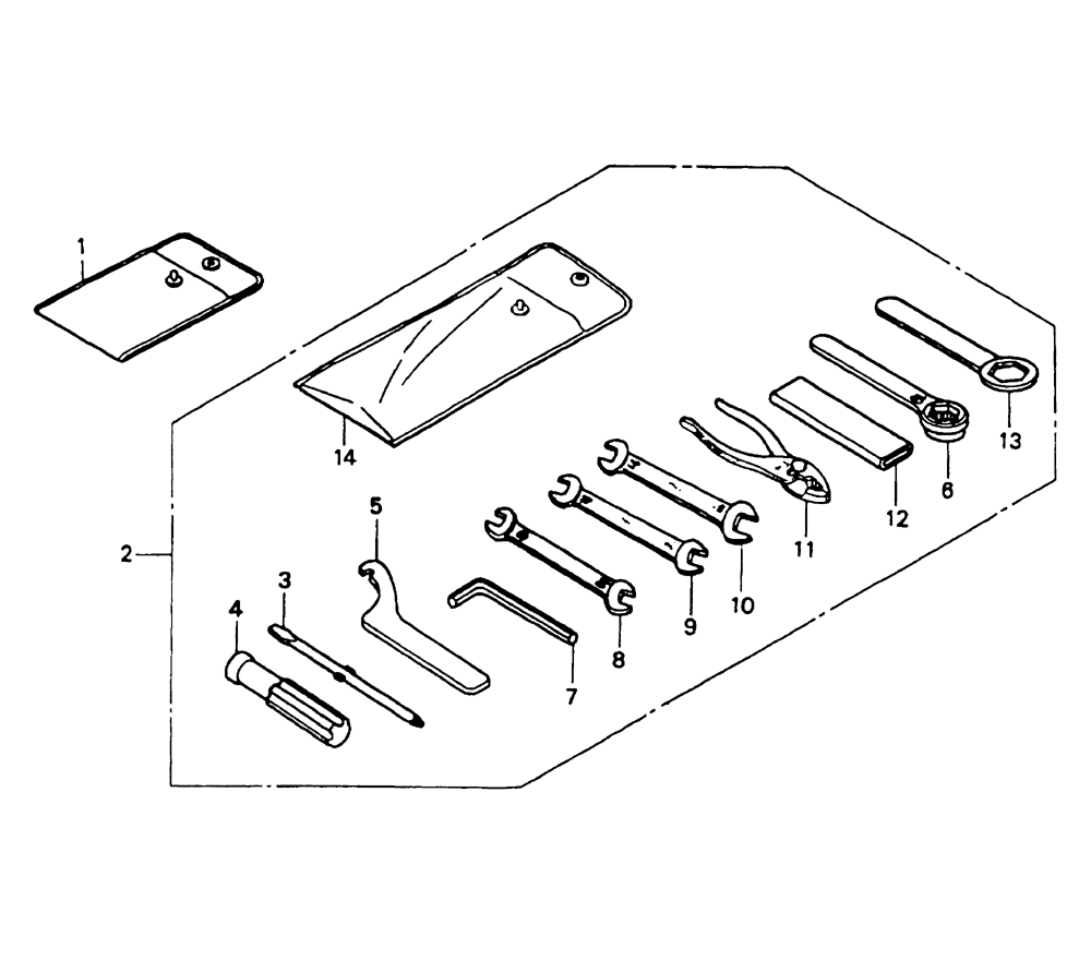 NSR Salatiga: NSR 150 New RR (RRW) Parts Catalogue: Tools