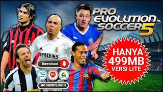 Download PES 2005 Europe PPSSPP LITE New Faces Graphics Full HD & Season Transfer 2004 - 2005