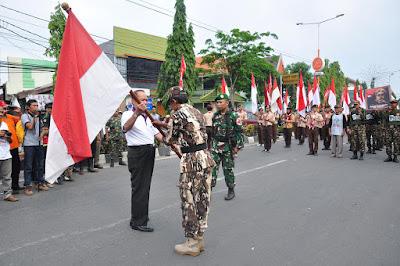 Sambut 5000 Peserta Napak Tilas KH Nawawi, Mas'ud Yunus : Refleksi  Perjuangan Syuhada