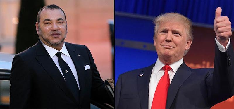 Mohammed VI et Donald Trump ont discuté lors d'une réunion téléphonique.
