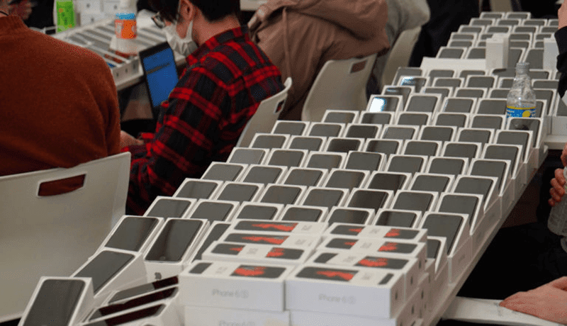 Japan gives FREE 2,000 iPhones to passengers stranded due to Coronavirus