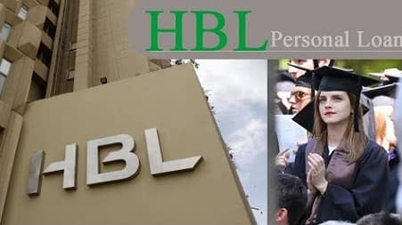 HBL personal loan for education of students