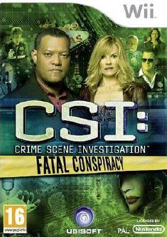 csi crime scene investigation fatal conspiracy ps3