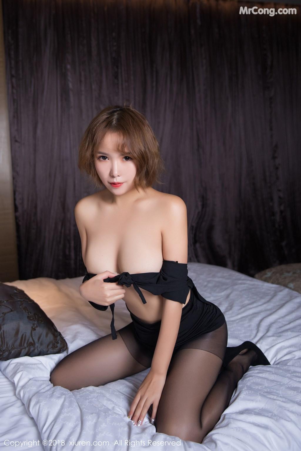 Image XIUREN-No.1264-Ya-Wen-MrCong.com-052 in post XIUREN No.1264: Người mẫu Ya Wen (雅雯) (61 ảnh)