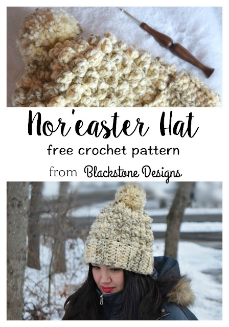 Nor'easter Hat Pinterest image