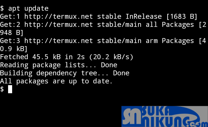 Tentang Termux, Terminal Emulator Untuk Android dan Instalasinya - www.sukanikung.com