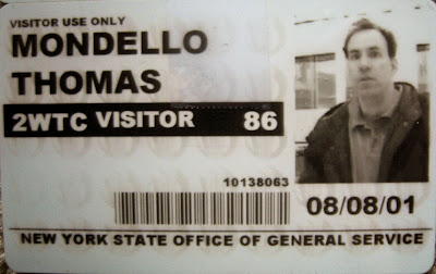 Still have a few visitor's passes that were needed to enter the towers after the 1993 bombing attempt.