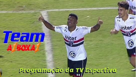 Programação da TV Esportiva ''Quinta'' 17/01/19