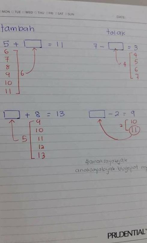 Cikgu Matematik Kongsi Formula 'Mahal' Untuk Mudahkan Anak Tahun 1 Cepat Faham
