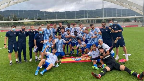El Málaga Juvenil pasa de ronda tras eliminar al Athetic (3-3)