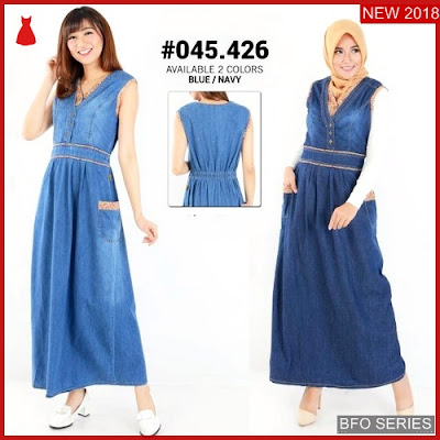 BFO234B38 GAMIS Model JUMPSUIT JEANS Jaman Now 045 BMGShop