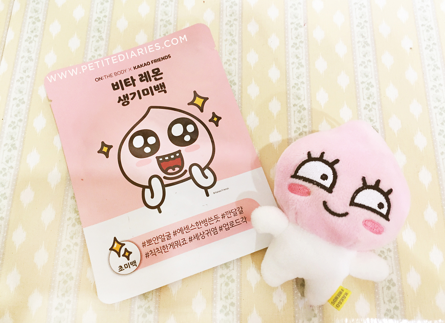 kakao friend apeach mask