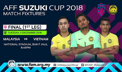 Harga Tiket Final Piala AFF Suzuki 2018 Malaysia vs Vietnam