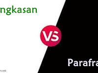 Perbedaan Antara Ringkasan dan Parafrase