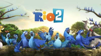 Rio 2 (2014) 3D Movie Hindi English Telugu Tamil 1080p