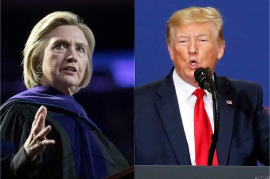 Hillary Clinton Slams 🗣️ Donald Trump Over Google Allegation