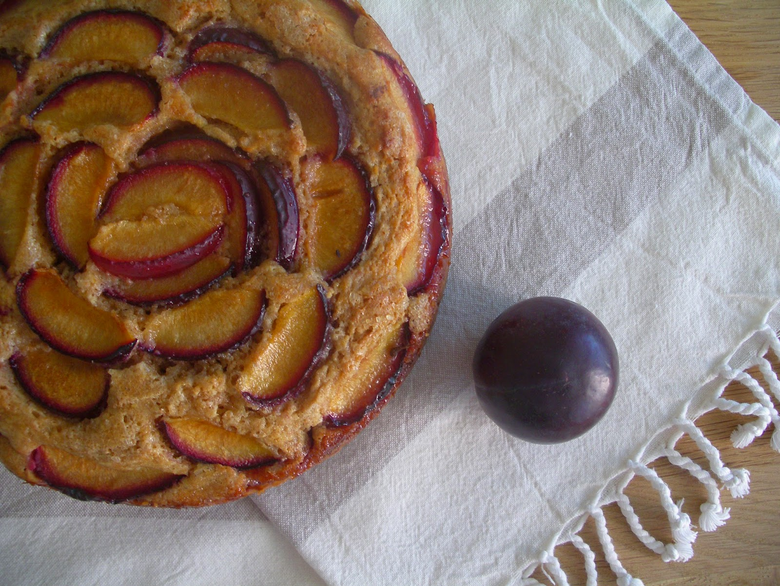 Buttermilk Plum Cake