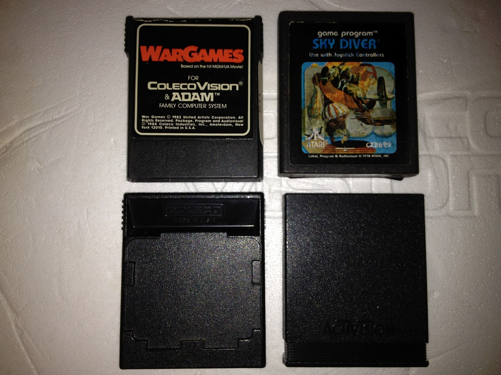 The Vintage Game Spot: How to find ColecoVision Game Cartridges