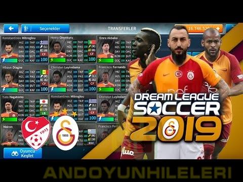 Dream League Soccer 2019 Galatasaray Transfer Yaması (Falcao Var)