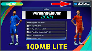 Download Winning Eleven 2012 Mod PES 2021 Android Offline Best Graphics 4K New Update Kits & Full Transfers