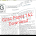 Gujarat Public Service Commission (GPSC) Important News for GPSC Class 1&2 Exams Paper Download