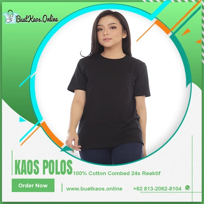 Grosir Kaos Polos Combed 24s Online