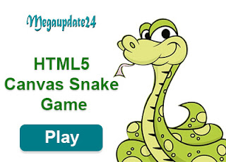HTML5 Canvas Snake Game
