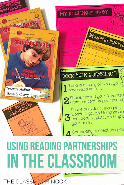 using reading partnerships in the classroom