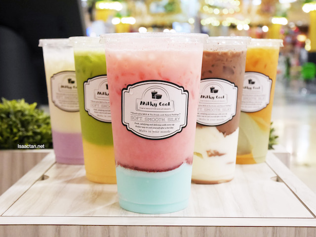 Milky Cool Handcrafted Milk Tea Drinks & Natural Puddings @ Milkcow Malaysia