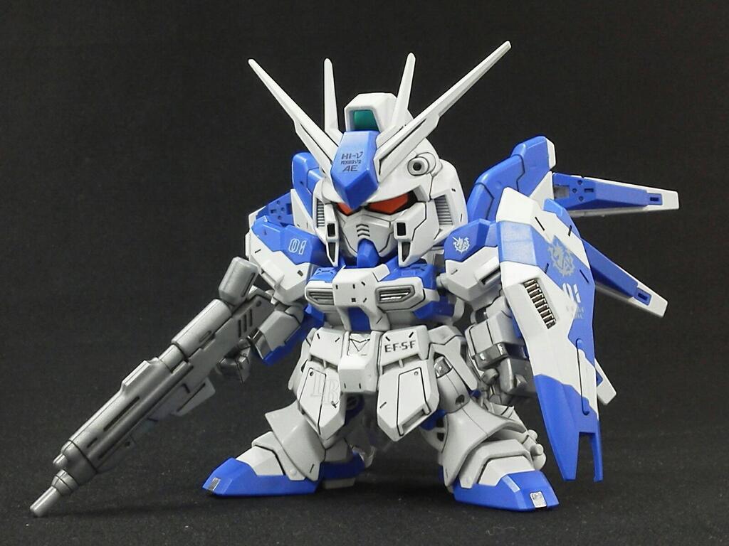 SD BB Senshi hi-nu Gundam - Gundam Kits Collection News and Reviews