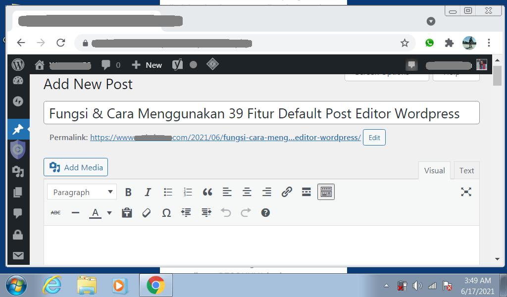39 Post Editor Wordpress