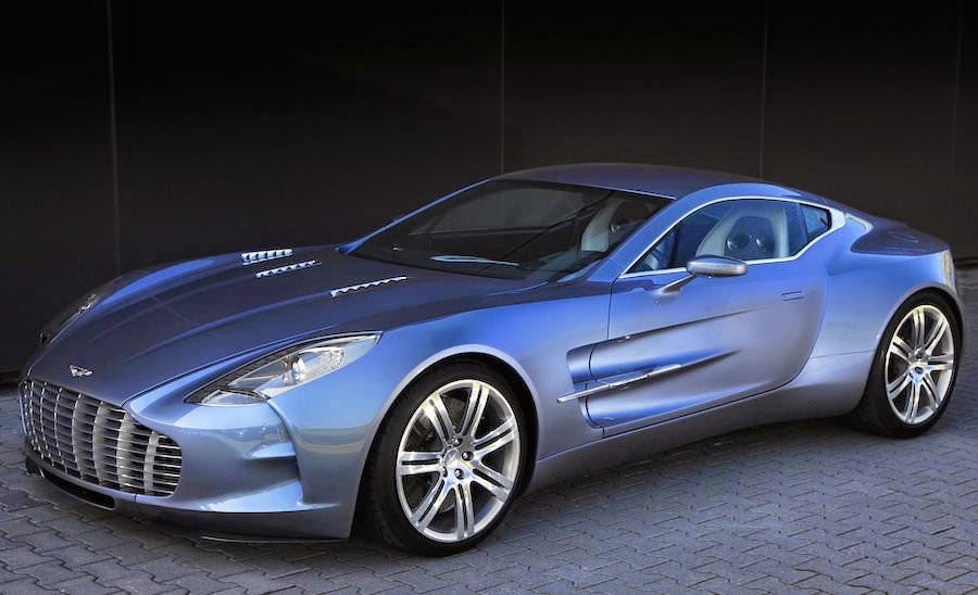 世界一高い価格の高級車 アストンマーチンOne-77