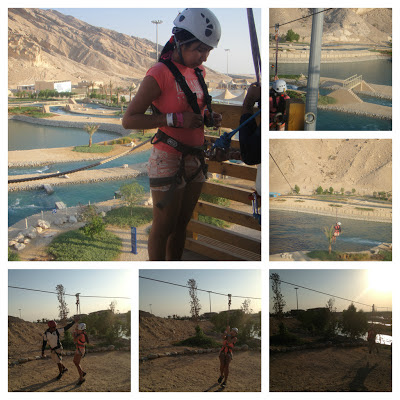 Wadi Adventure zip line
