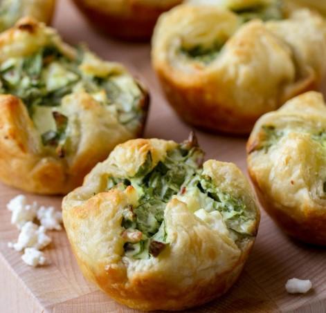 Spinach Puffs Recipe