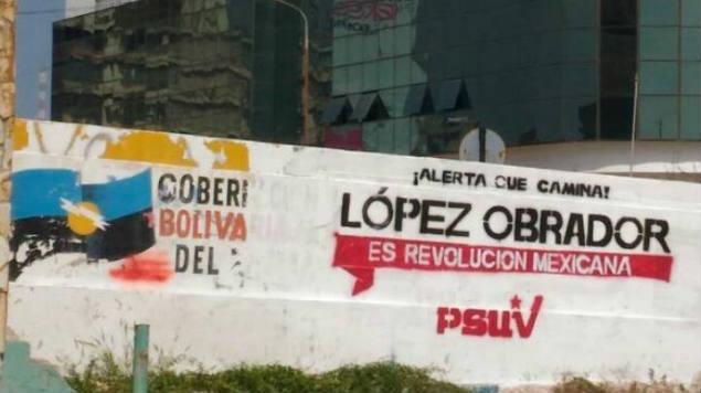La campaña electoral por la Presidencia de México está candente... en Venezuela