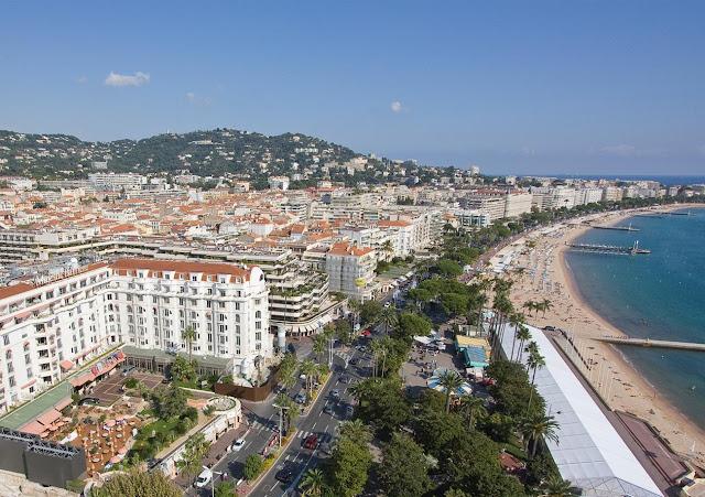 Avenida La Croisette em Cannes