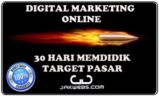 KURSUS DIGITAL MARKETING ONLINE JAKWEBS