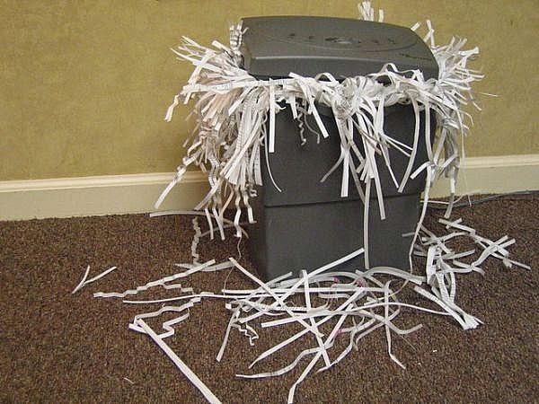 Máy hủy giấy thành sợi