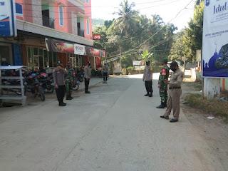Operasi Yustisi !!! Polsek Baraka Polres Enrekang Dan Tim Satgas Covid-19 Melakukan Penindakan