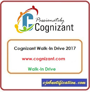 Cognizant Walk-In Freshers Process Associate jobs in Kolkata 2nd-6th Nov'2017