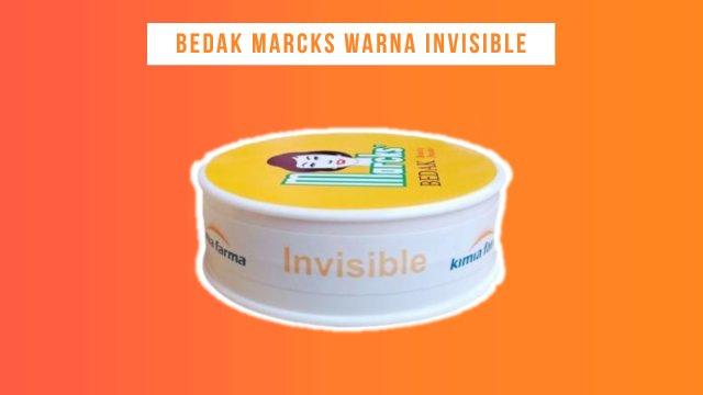 Bedak Marcks Warna Invisible bisa memutihkan wajah