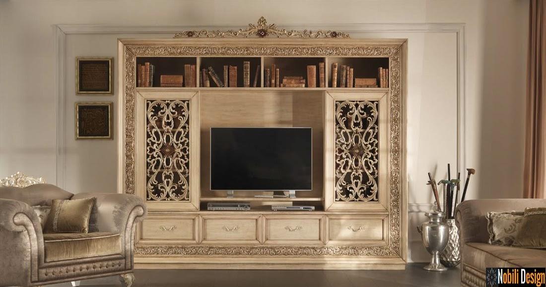Design interior mobilier clasic de lux italia mobila for Mobila living moderna italiana