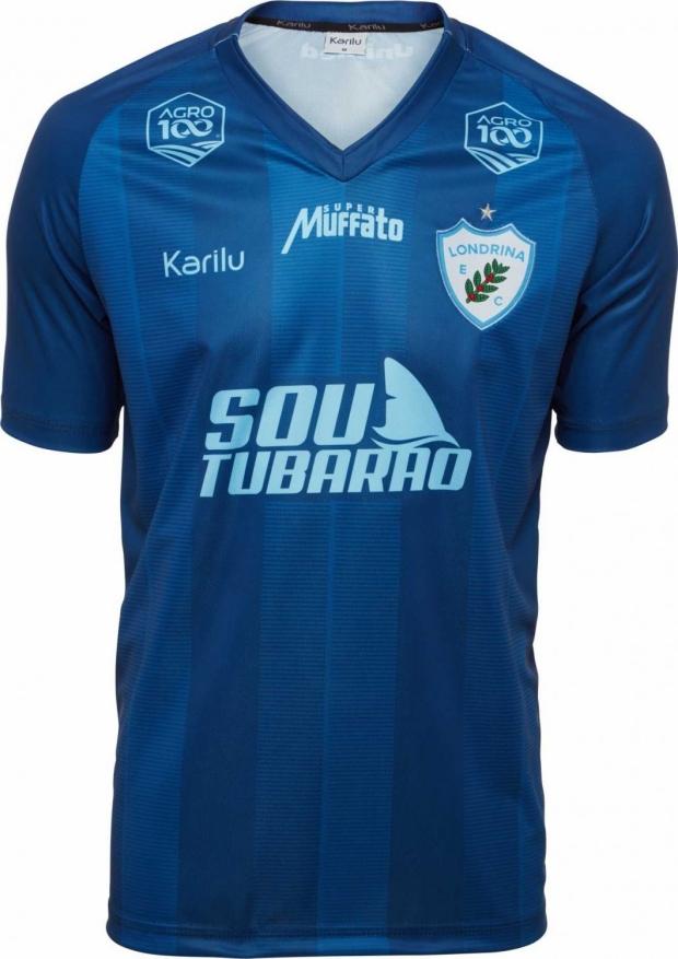 4b4d1cf87 A fabricante de material esportivo Karilu apresentou os novos uniformes que  o Londrina Esporte Clube usará no Campeonato Paranaense e na Série B do ...