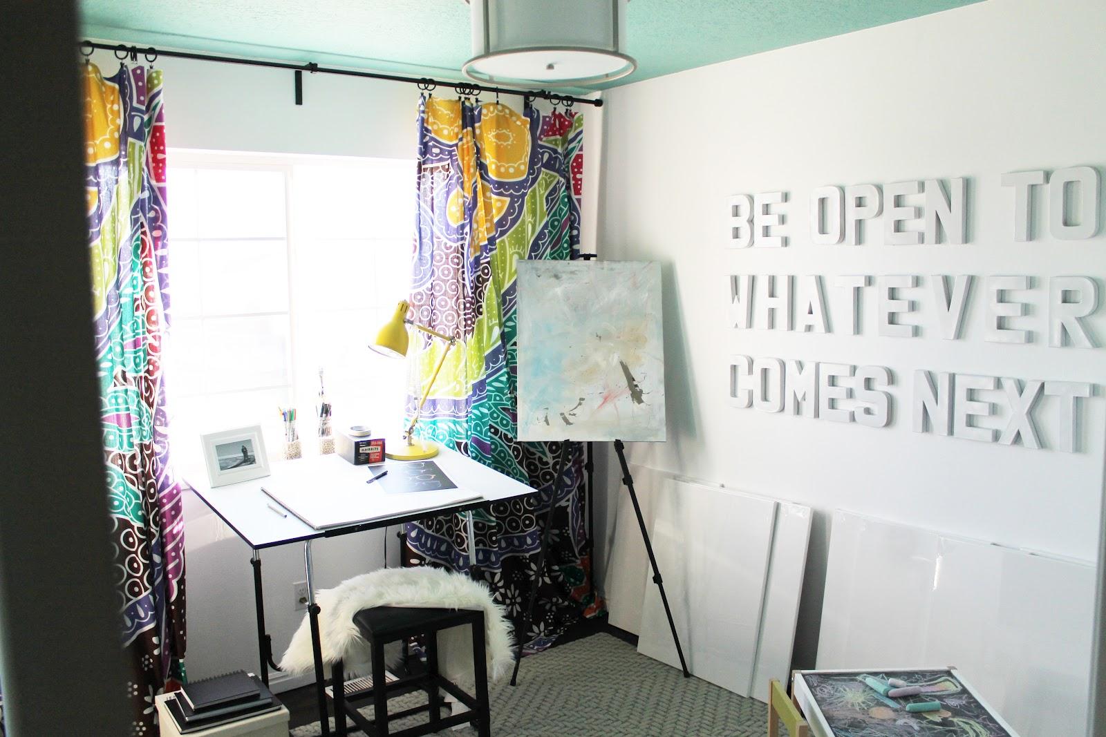 Stale Nursery To Lively Studio Reveal