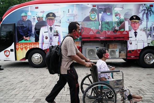Masyarakat Antusias Ikuti Layanan Program Kesehatan Keliling