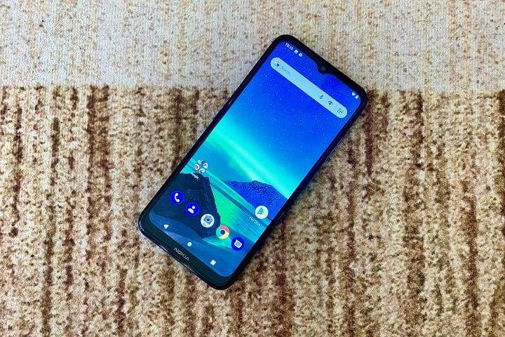 Nokia 1.4 Display Review