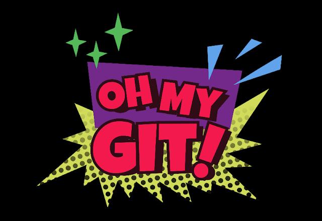 Oh My Git! game logo